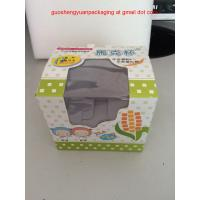 Quality Paper cardboard Box with Clear Window for Packaging cups for sale