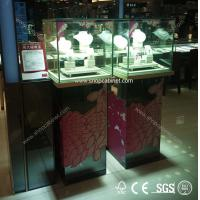 Quality hot sale top quality glass jewelry showcase for sale