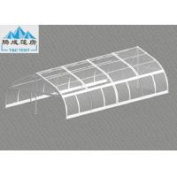 Buy cheap 120km/h Wind Flame Retardant 10x20m Aluminum Frame Party Tent , Luxury All Season Customized PVC Color from wholesalers