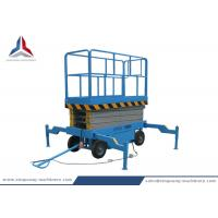 China 8m Platform Height Mobile Hydraulic Scissor Lift Table from China Factory on sale