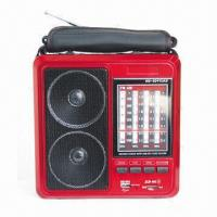 Quality Radio with USB/SD and Rechargeable Battery  for sale