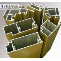 Quality T66 Sand Blasting Satin Aluminum Door Extrusions ROHS / SGS Approval for sale
