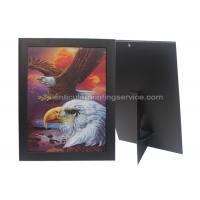 Quality Paper Frame Stand 3d Lenticular Sheets Picture PET Custom Design for sale
