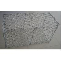 Quality Anti Corrosion Pvc Coated Gabion Box , Galvanized Gabion Baskets River Protection for sale