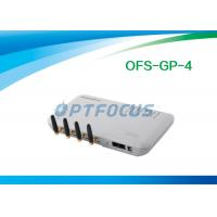Quality White 4 Channel VOIP GSM Gateway for sale