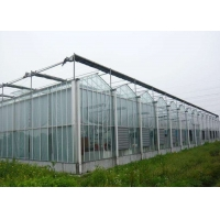 Quality Polycarbonate Plastic Film Multi Span Agricultural Greenhouse for sale