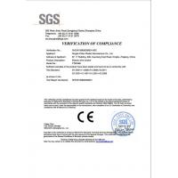 Ningbo Pinbo Plastic Manufacturer Co., LTD Certifications