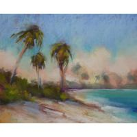 Quality landscape painting lake picture interior decor for sale