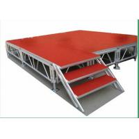 Quality Indoor Movable Stage Platform 1.22 X 1.22M Aluminum Height TUV for sale