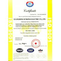Guangdong Sunkings Electric Co., Ltd Certifications