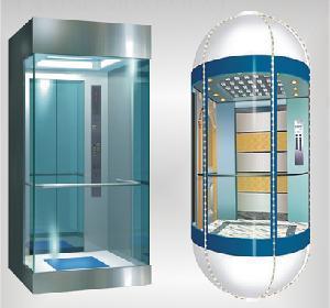 China Panoramic Home Elevator on sale