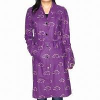 Buy cheap Women's Raincoat, Long, PU Fabric, Waterproof 3000 from wholesalers