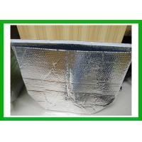 Quality Self - Sealing Silver Metallic Bubble Insulated Foil Bags For Vegetable Shipping for sale