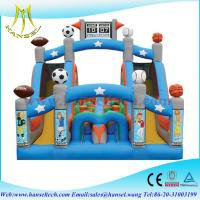 China Hansel Inflatable Smiling Obstacle Course, inflatable sliding course, inflatable obstacle on sale