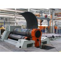 Quality CNC Plate Bending Rolling Machine , 4 Roller Plate Rolling Machine for sale