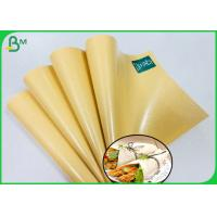 China Food Grade Packaging 80g PE Laminated Paper For Wrapping Chicken Rolls on sale