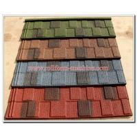Quality Corrugated Stone Coated Steel Roofing Tile Sheet, Cheap Metal Building Materials for sale