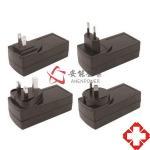 China EN/IEC60601 Standard 36 Watt Wall AC DC Medical Adapter 12V 3A, 24V 1.5A, 36V 1A Medical Power Supply for sale