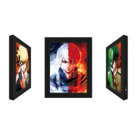 Quality 3D Lenticular Flip Picture Anime Advertising LED Light Box For Home Decoration for sale