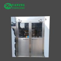 Double Door Cleanroom Air Shower Fully Automatic Control 1500*2000*2050mm