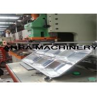 Quality Multicavity Take away Aluminum Foil Container Machine , Photoelectric Protection System for sale