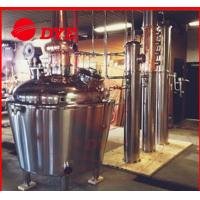 Quality 200 Gallon Home MoonshineDistillation Equipment 3mm Thickness CE for sale