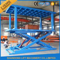 China Portable Hydraulic Scissor Car Lift home elevator WITH high strength Manganese Steel on sale