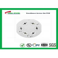 Quality LED lights PCB with Aluminum Base , Quick Turn PCB Prototypes White Solder Mask for sale