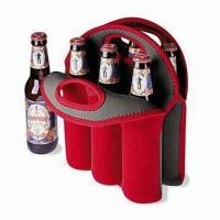 Quality Neoprene Can/Beer Bottle Cooler with Logo Printings, Measures 32 x 38 x 0.3cm for sale