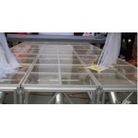 Buy Glass Square Acrylic Stage Platform Anti-slip For Evens at wholesale prices