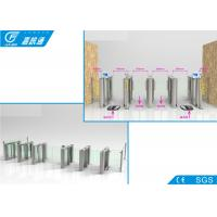 Quality Indoor Swipe Card Half Height Turnstile , Magnetic Card Turnstile Security Systems for sale