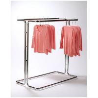 Buy Fashionable Metal Single Bar Garment Display Stand Clothes Hanging Rack For Hanging Items at wholesale prices