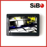 Quality Customized 7 Inch Wall Flush Mount  POE Touch Panel With RS485  For Industrial Control System for sale