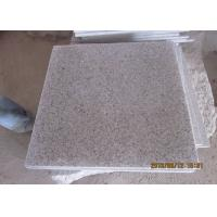 Quality G681 Granite Stone Tiles for bathroom polished cream beige color for sale