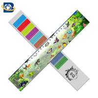 Quality Straight 3D Lenticular Ruler For Promotional Gift Stationery Custom Shape for sale
