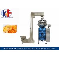 Quality KEFAI Automatic Weighing Sales Chips / Snack Nitrogen Packing Machine For Food for sale