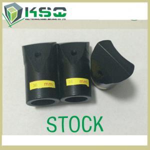 Quality Black STOCK Small Diameter Taper Chisel Drill Bits For Granite Quarry for sale