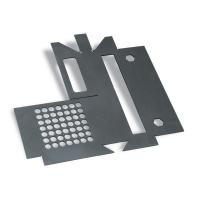 Quality Laser Cutting Sheet Metal Stamping Process Parts For Electronic Spare Parts for sale