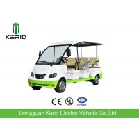 Quality Curtis Controller 48V Electric Sightseeing Car / Electric Passage Car 8 Seaters With Onboard Charger for sale