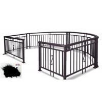Quality SGS Garden Fence All Coat Powder Coating Good Delay Impact Performance for sale