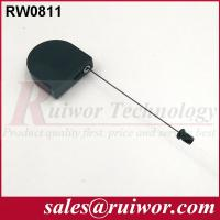 Quality Retractable Pull Box With Flat Head Screw , Anti Theft Recoiler For Purchase Security for sale