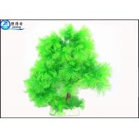 Buy Little Lush Trees Plastic Simulation Fish Tank Plants With Red / Green / Blue Customized at wholesale prices