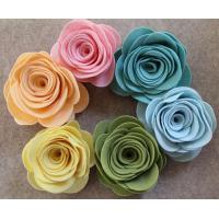 Quality Promotional Beautiful Felt Flower Customer Design for sale