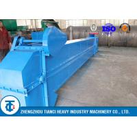 China Rubber Fertilizer Conveyor Belt / Bucket Elevator Conveyor Carbon Steel Made on sale