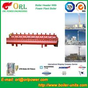 Quality Solar Boiler Hydraulic Header Manifold / Manifold Header High Heating Efficiency for sale