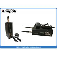 Quality Video and Two-way Communication NLOS Long Range Video Sender 450km/h High-speed for sale