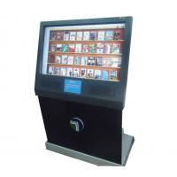 Dust-Proof 55 Inches Touch Screen Compact Ticketing Multimedia Kiosks with Bar-code Scanner