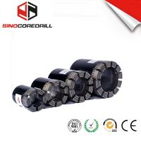 Quality Geological Diamond Core Drill Bit , Diamond Impregnated Bits With High Speed for sale