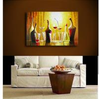 Quality modern painting coffee and coffee bean art picture for sale