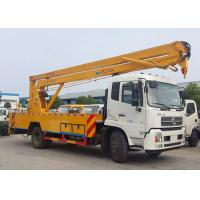 China High Altitude Operation Truck / 20 Meter Skylift Telescopic Boom Aerial Manlift Bucket Truck on sale